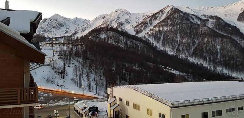 Панорама из отеля
