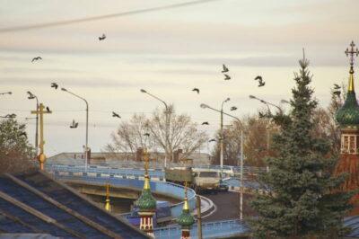 Мост через Волгу