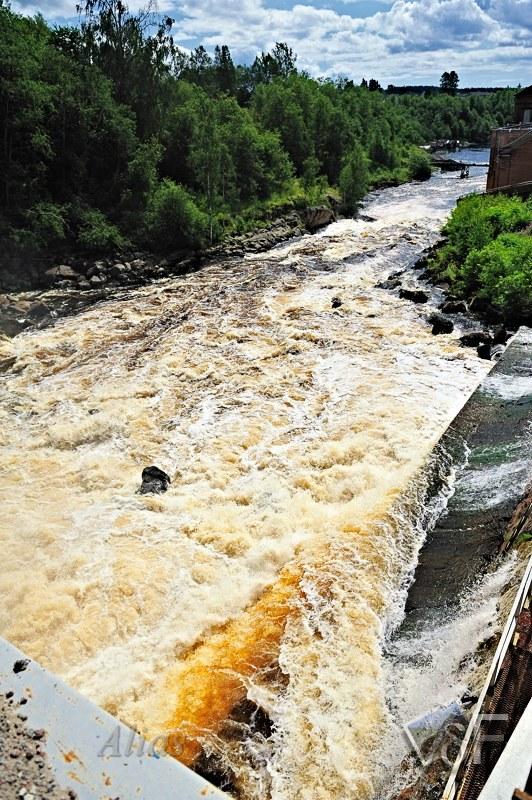 Мини-ГЭС на реке Янис