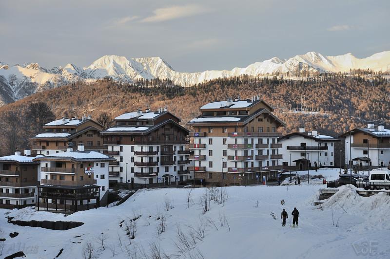 Отели горной Олимпийской деревни