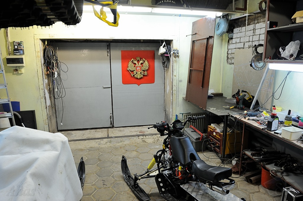 Рабочее место в моем гараже