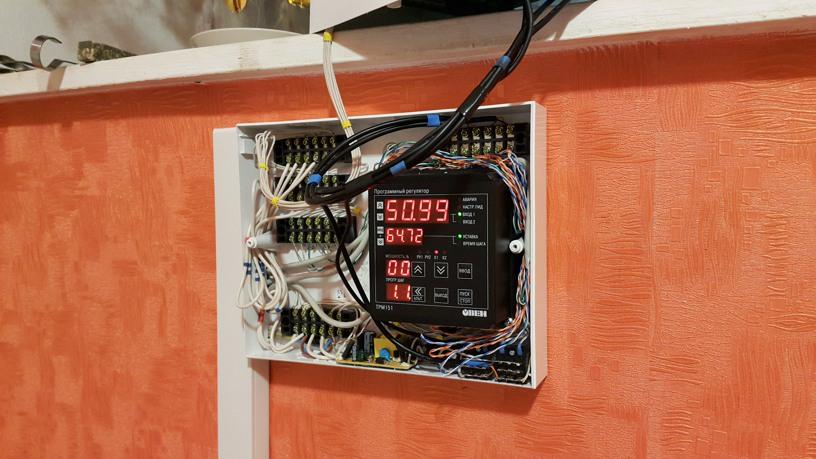 Контроллер газового котла