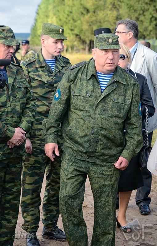 Главком ВДВ Шаманов В.А.