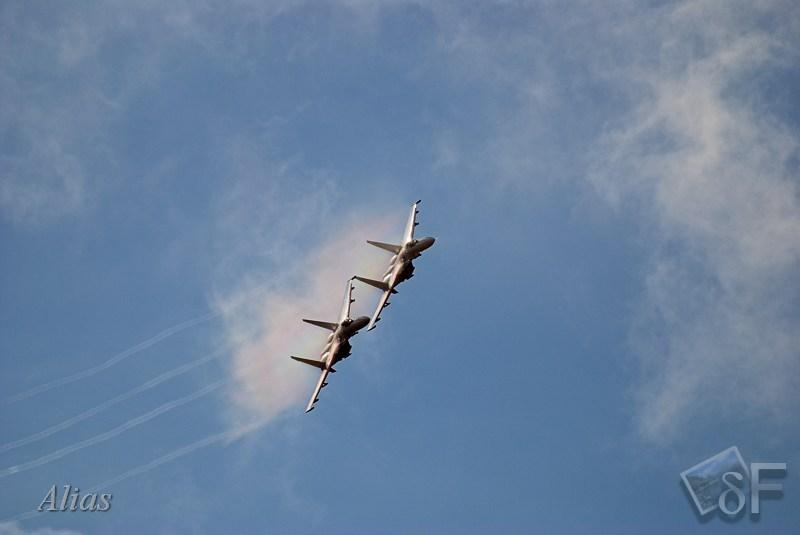 Воздушная разведка парой СУ-27