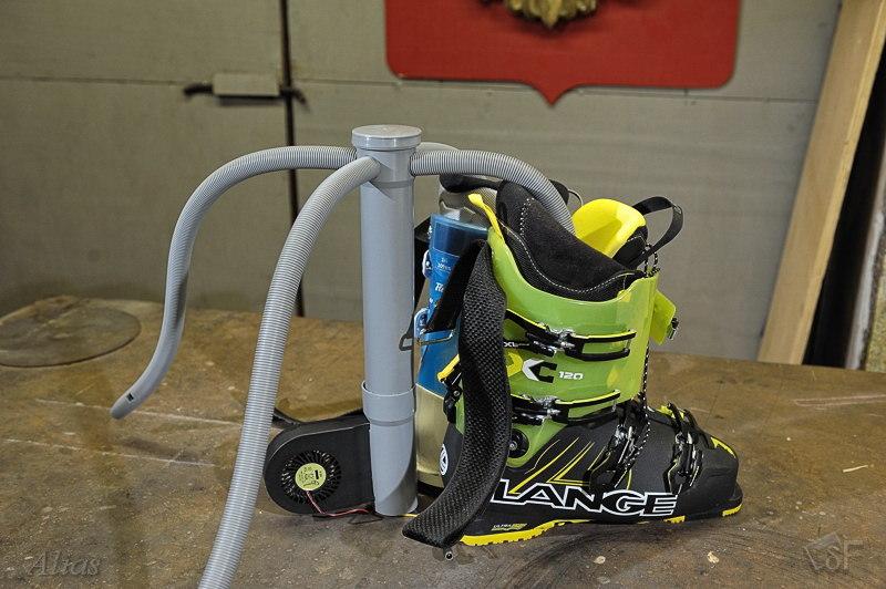 Самодельная сушилка для горнолыжных ботинок