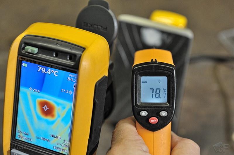 Проверка точности установки терморегулятора лыжного утюга